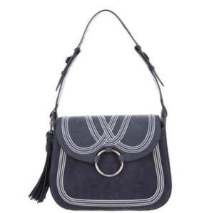 Tory Burch Tassle Large Shoulder Bag